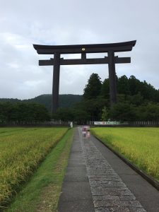 日本一の鳥居大斎原